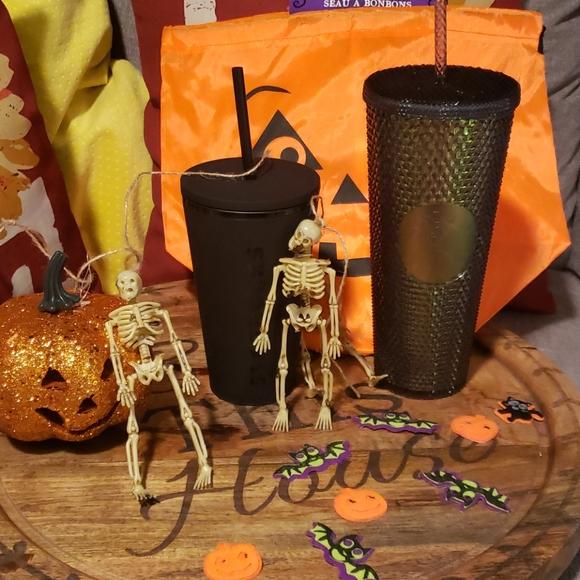 Starbucks Other - Starbucks flat black & autumn studded tumbler